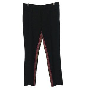 John Galliano Black Colored Ribbon Dress Pants